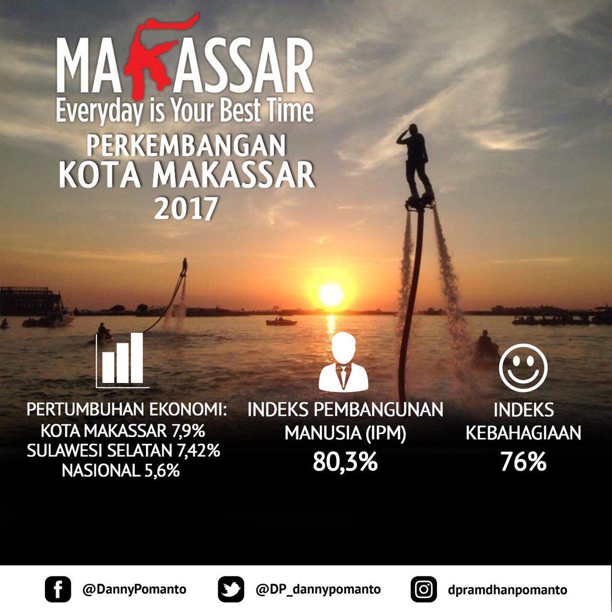 Perkembangan Kota Makassar 2017 @DP_dannypomanto https://t.co/iQh7num4dz