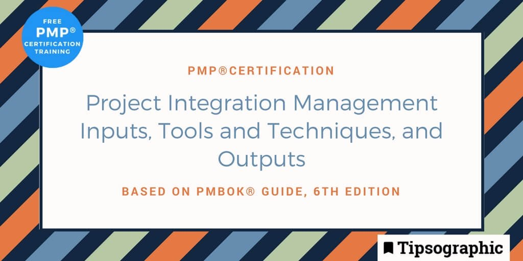 Tipsographic On Twitter Pmp Certification Project Integration