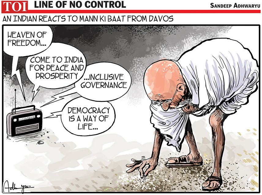 The Times Of India On Twitter Today S Toon By Sandeep Adhwaryu