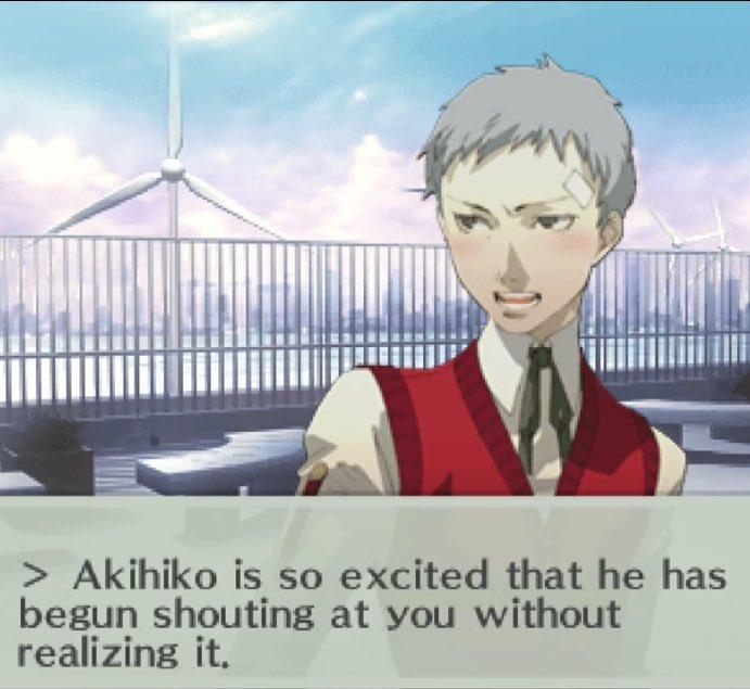 Dating Akihiko persona 3 draagbare