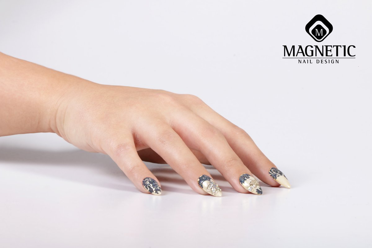 Magnetic Nail Design on Twitter: \