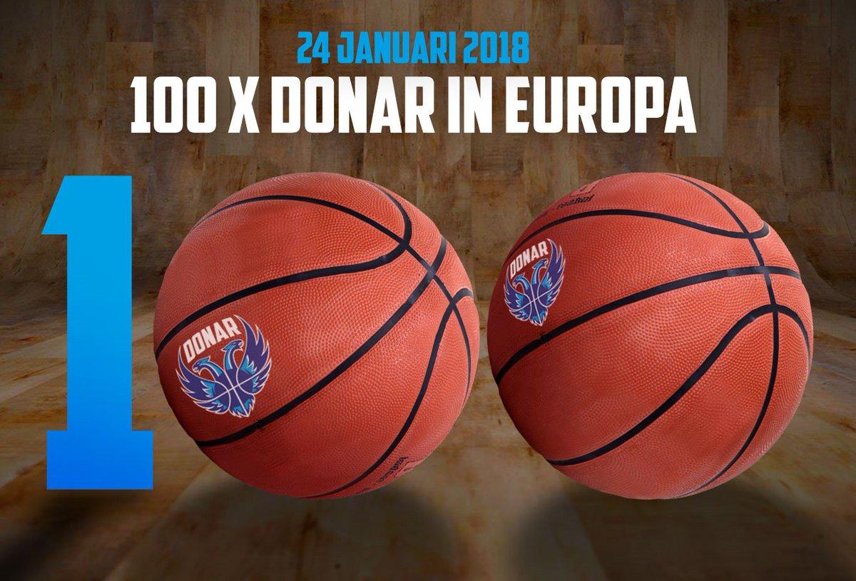 Vanavond spelen we onze 100e Europacup wedstrijd! Een mijlpaal in de historie van Donar. Deze game mag je niet missen! We gaan #together voor de winst. Nog geen kaarten? https://t.co/1sXvbSXSJf #together #historie #Donar bij 100 RT's verloten we een Donar Cap!🧢 https://t.co/97egNQzwAA
