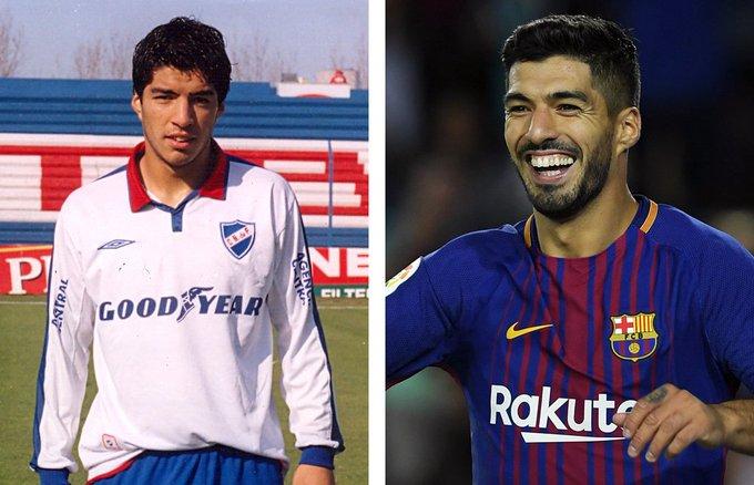 Happy Birthday Luis Suarez Suarez came through the Club Nacional youth system in Uruguay