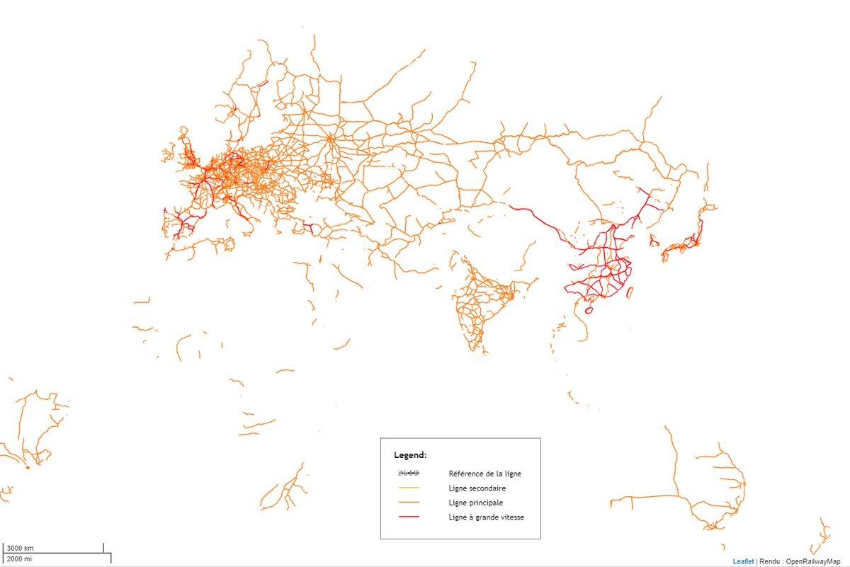 Carte Chine Interactive.Geoconfluences On Twitter Openrailwaymap La Carte