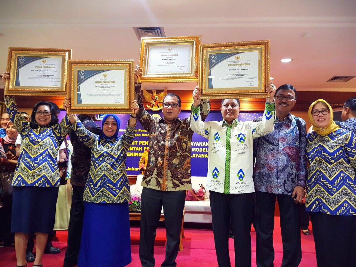 Penghargaan Pelayanan Publik Indonesia @DP_dannypomanto https://t.co/9phhOpztsN