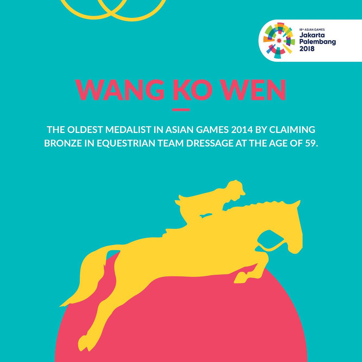 Asian Games  On Twitter Age Is Not The Limit When It Comes To Achievements Wang Ko Wen Is The Living Proof Of This