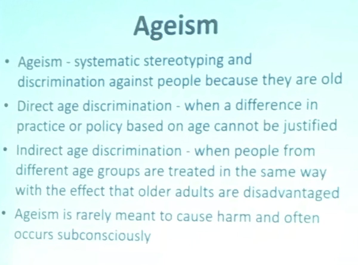 Mike Bolinder On Twitter This Definition Of Ageism Needs To Be