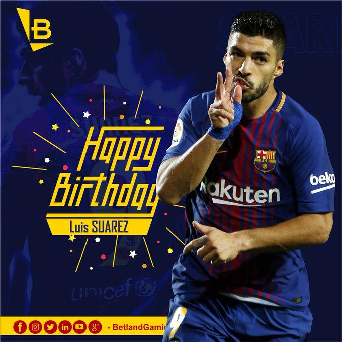 Happy 31st Birthday, Luis Suárez