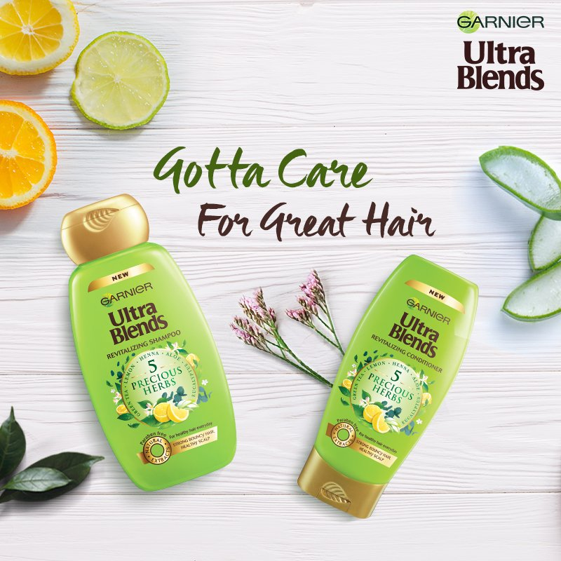 Life isn't perfect, but your hair can be & caring for it is the first step!  #Garnier #GarnierUltraBlends #Haircare #Nourishment #Shampoo #Conditioner https://t.co/Ex4icRqtjr