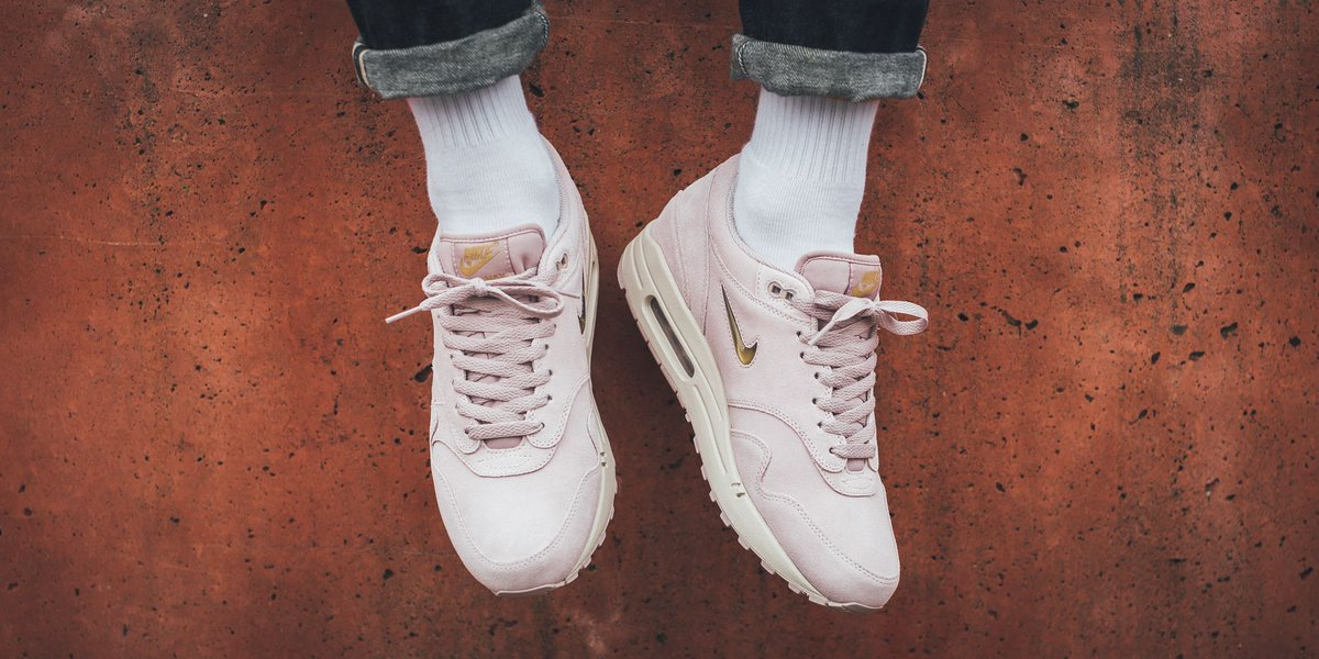 Nike Air Max 1 Premium SC Particle Rose Metallic Gold | Footshop