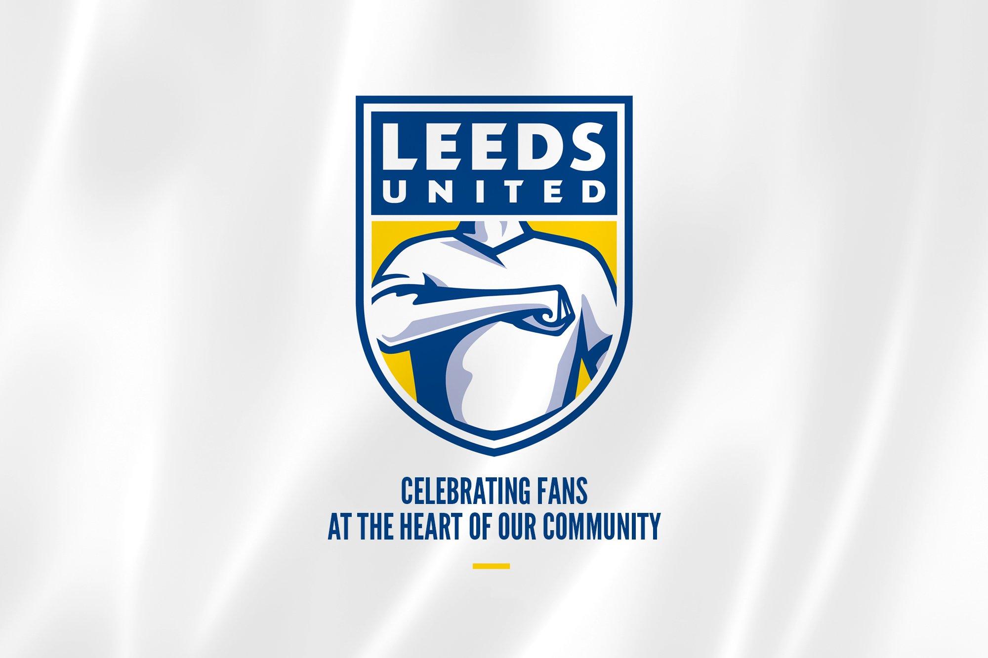Leeds byter klubbemblem