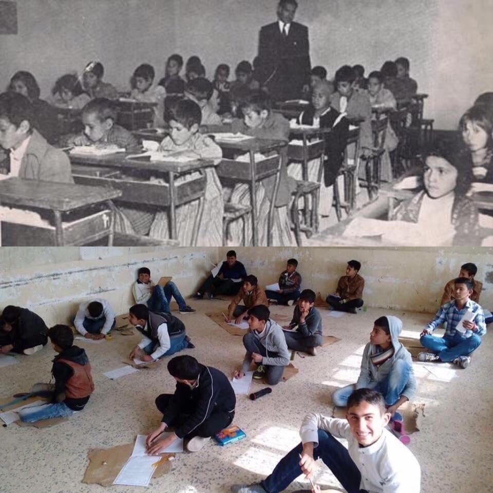 العراق عام 1956 م عندما كان العراق عربي،...