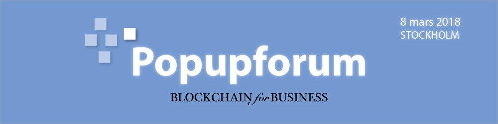 BLOCKCHAIN for BUSINESS (Popupforum) https://t.co/KSUBFaYUSu https://t.co/XTTe4tcPFL