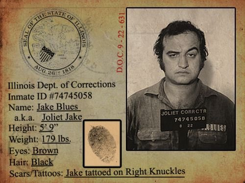 Happy Birthday to Joliet aka born on this day 1949.  (Man, I Love John Belushi)