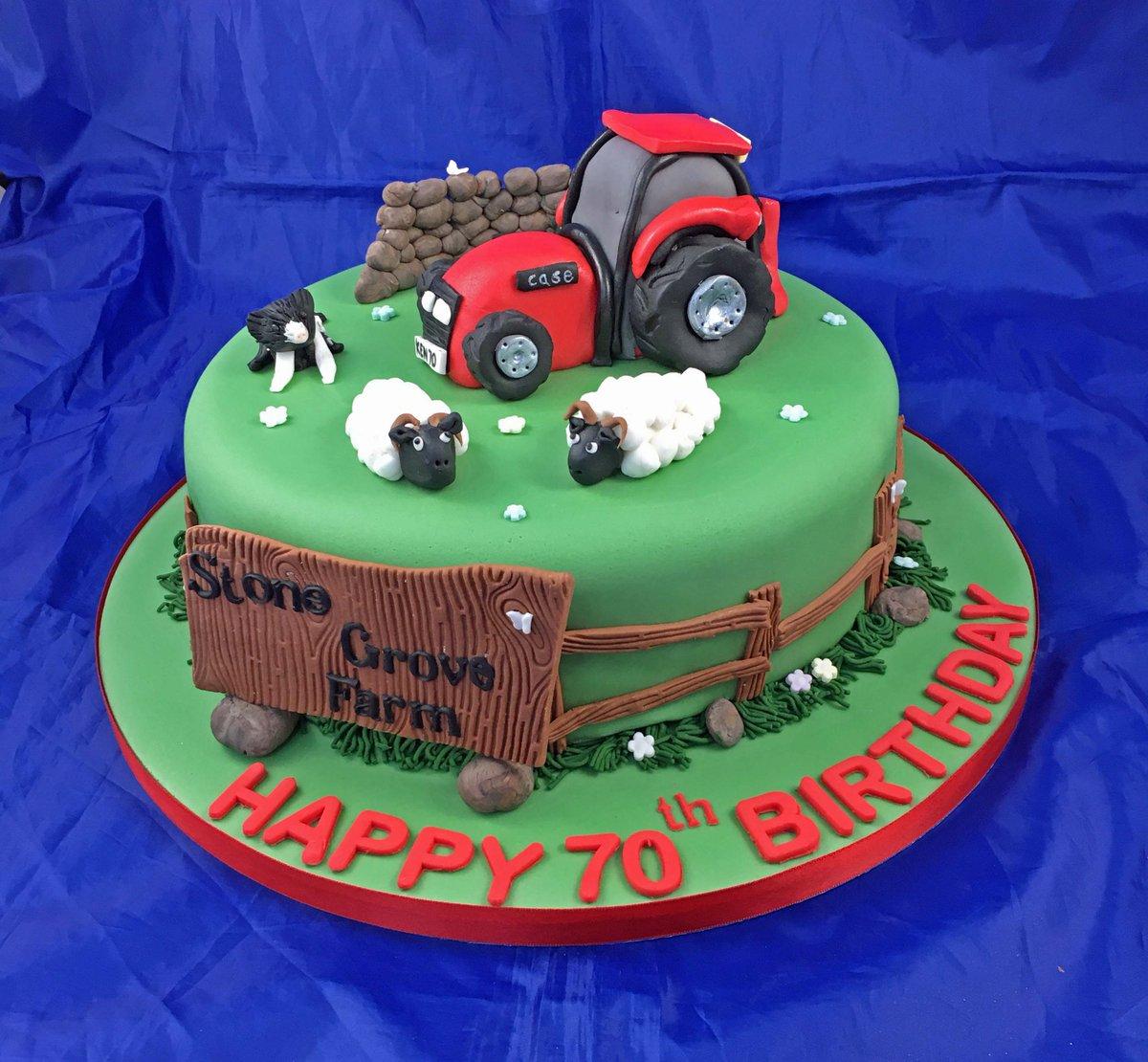 Nicola Young On Twitter Case Tractor Cake Tractorcake Birthdaycake YorkshireDales Casetractor Sheep Ingleton Homebakingbusiness