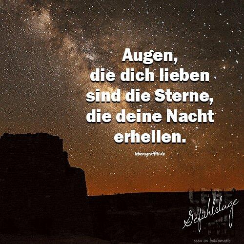 Lebensgraffiti On Twitter Augen Die Dich Lieben Sind Die Sterne