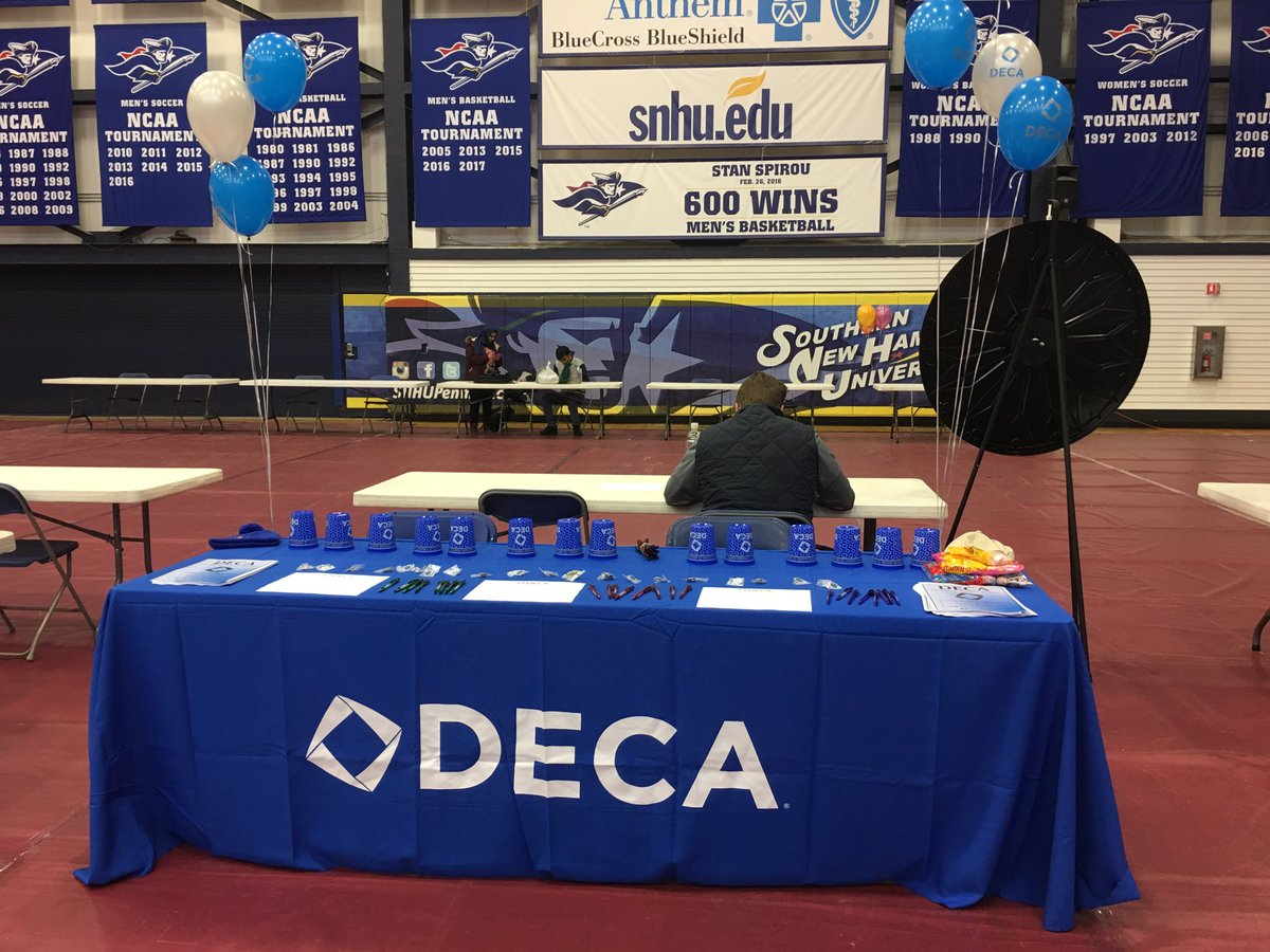 Congratulations to #SNHU  and the start of @CollegiateDECA on campus!  @DECAInc https://t.co/SxjJqOkjGF