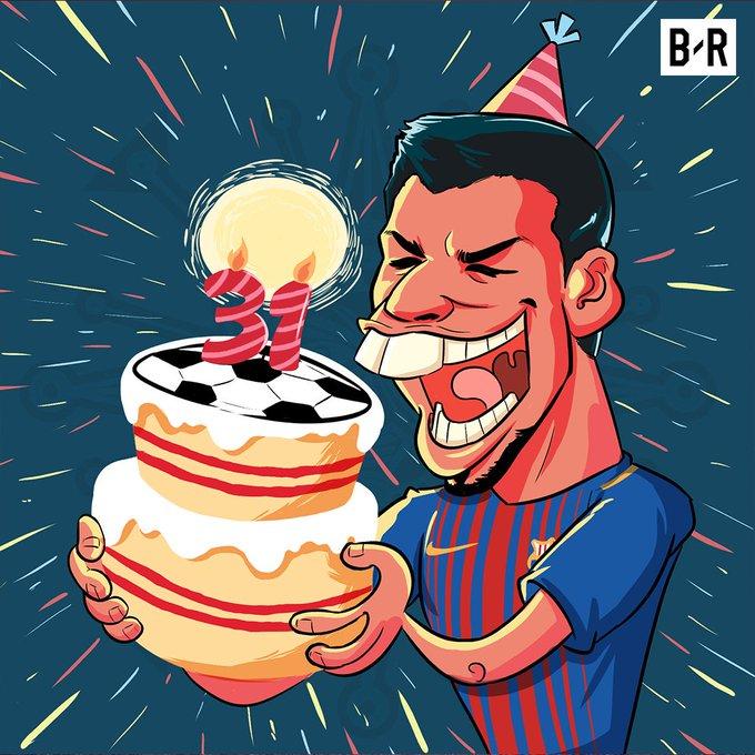 Happy birthday, Luis Suarez!