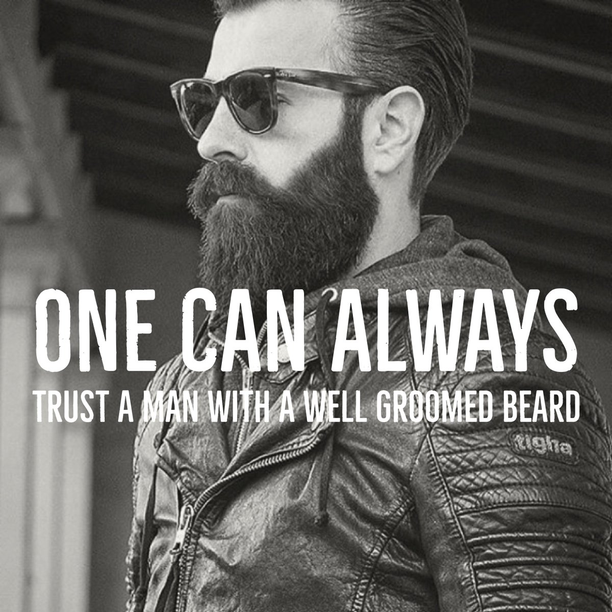 Essential Beards On Twitter One Can Always Trust A Man With A Well Groomed Beard Essentialbeards Beard Bearduk Quotes
