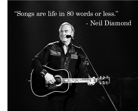 Happy birthday to singer and songwriter, Neil Diamond.