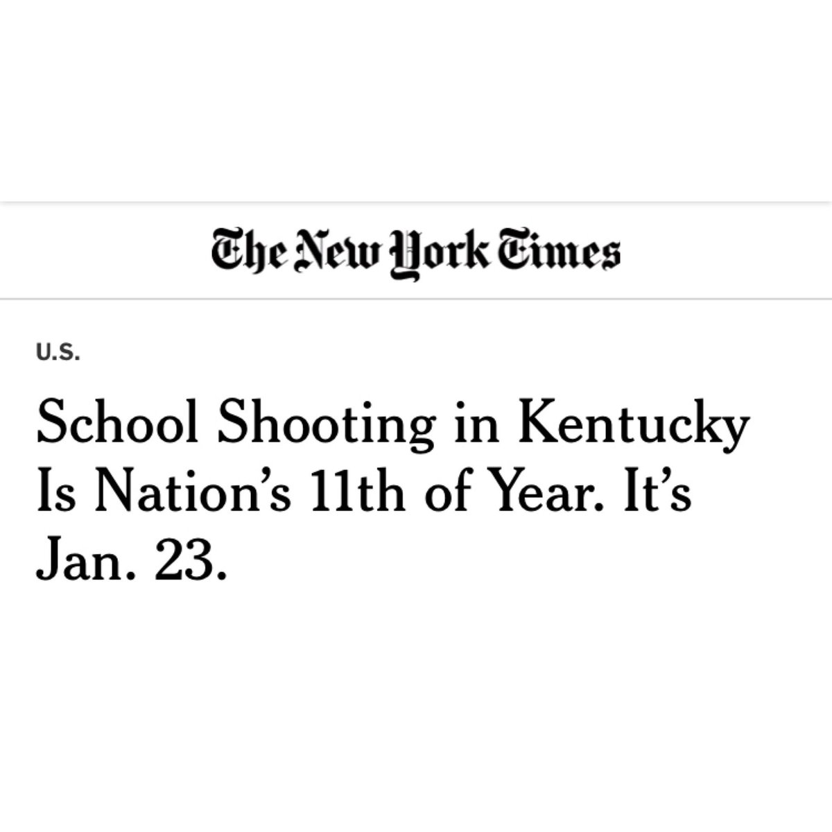 The @NRA wants you to ignore this headline. Don't.