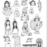 Colorear Dibujo On Twitter Colorear Dibujos De Indios Para