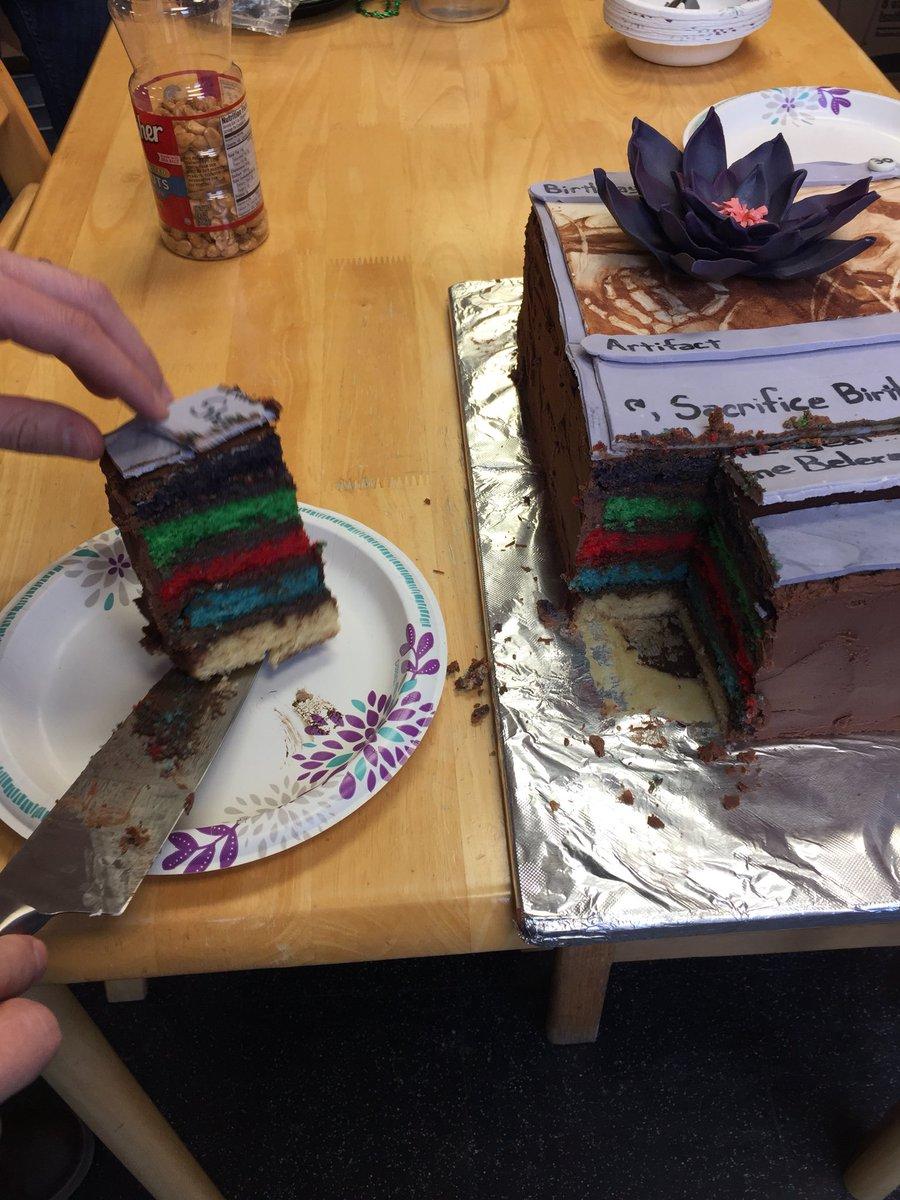 Derick Larson On Twitter Super Geek Birthday Cake