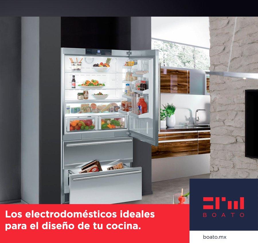 El electrodoméstico ideal para tu hogar; Belleza y elegancia para el diseño ideal de tu cocina.  #BOATO #InteriorDesign #KitchenDesign https://t.co/nSR7elpq0D