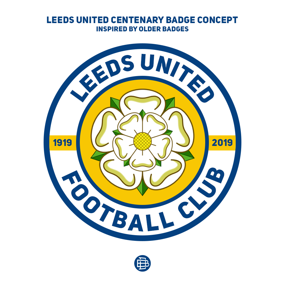Daniel B On Twitter Leeds United Centenary Badge Concept Made It Very Very Quickly 15 Mins So It Isn T Well Designed But I Based It On Some Of By Favourite Leeds Badges