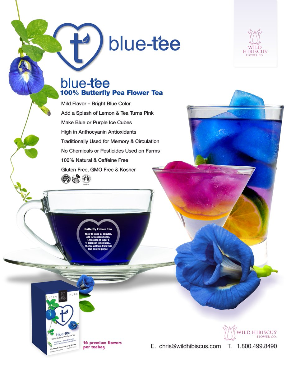 Wild hibiscus on twitter take time for tea heart tee blue tee is a mild tasting tea with intense blue color the flowers are a very high source of anthocyanin antioxidants nationalhotteamonthpicitteriybkh8pdnj izmirmasajfo