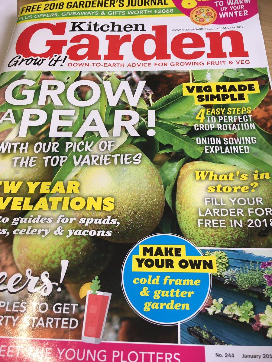 Kitchen garden magazine giveaways