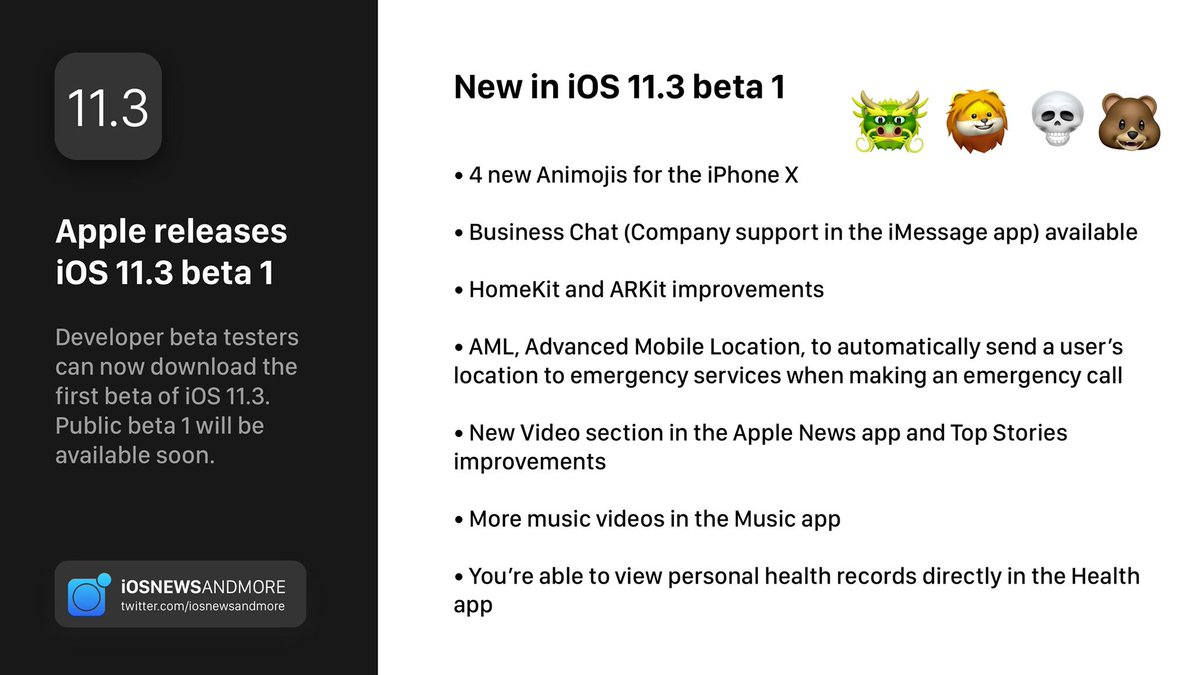 iOS News And More on Twitter: