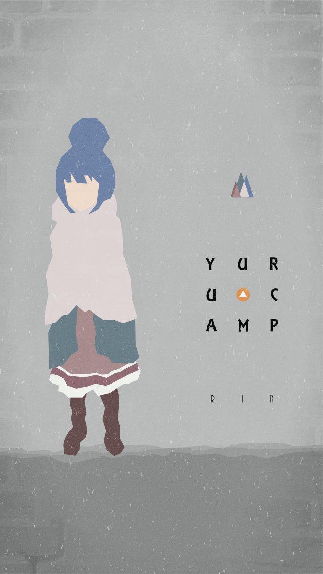 わや En Twitter ゆるキャン好きだから壁紙作りました ゆるキャン Yurucamp 壁紙