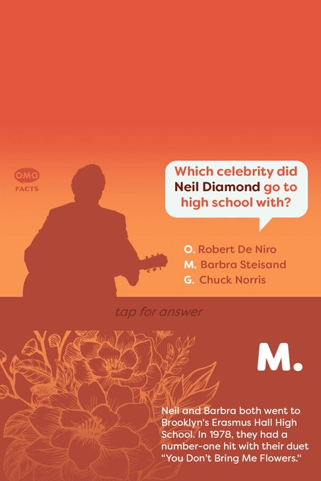 Happy Birthday, Neil Diamond! What\s your favorite song by the musician?   (tap for answer)