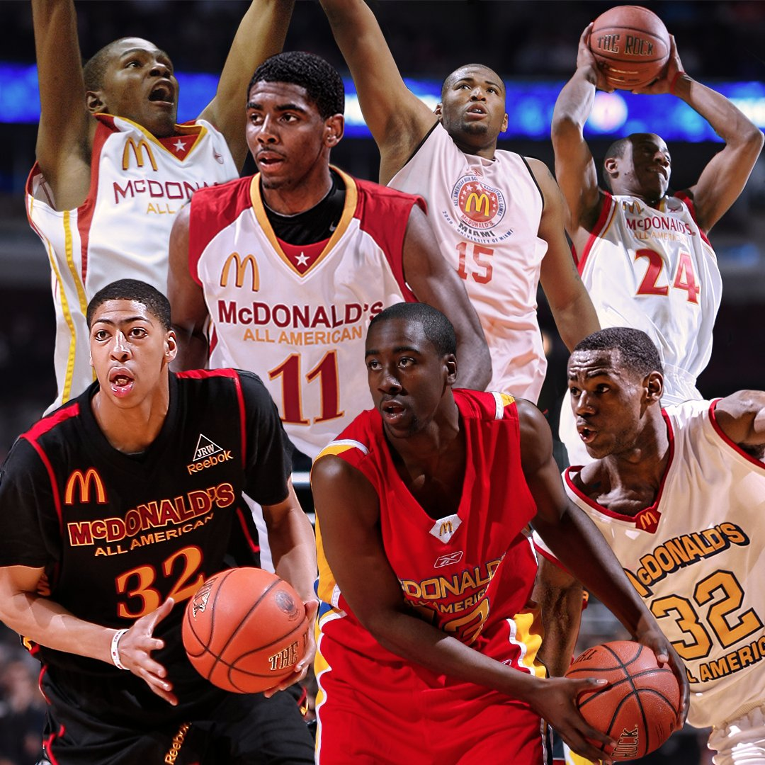 fa37543a963 McDonald s All American Games on Twitter