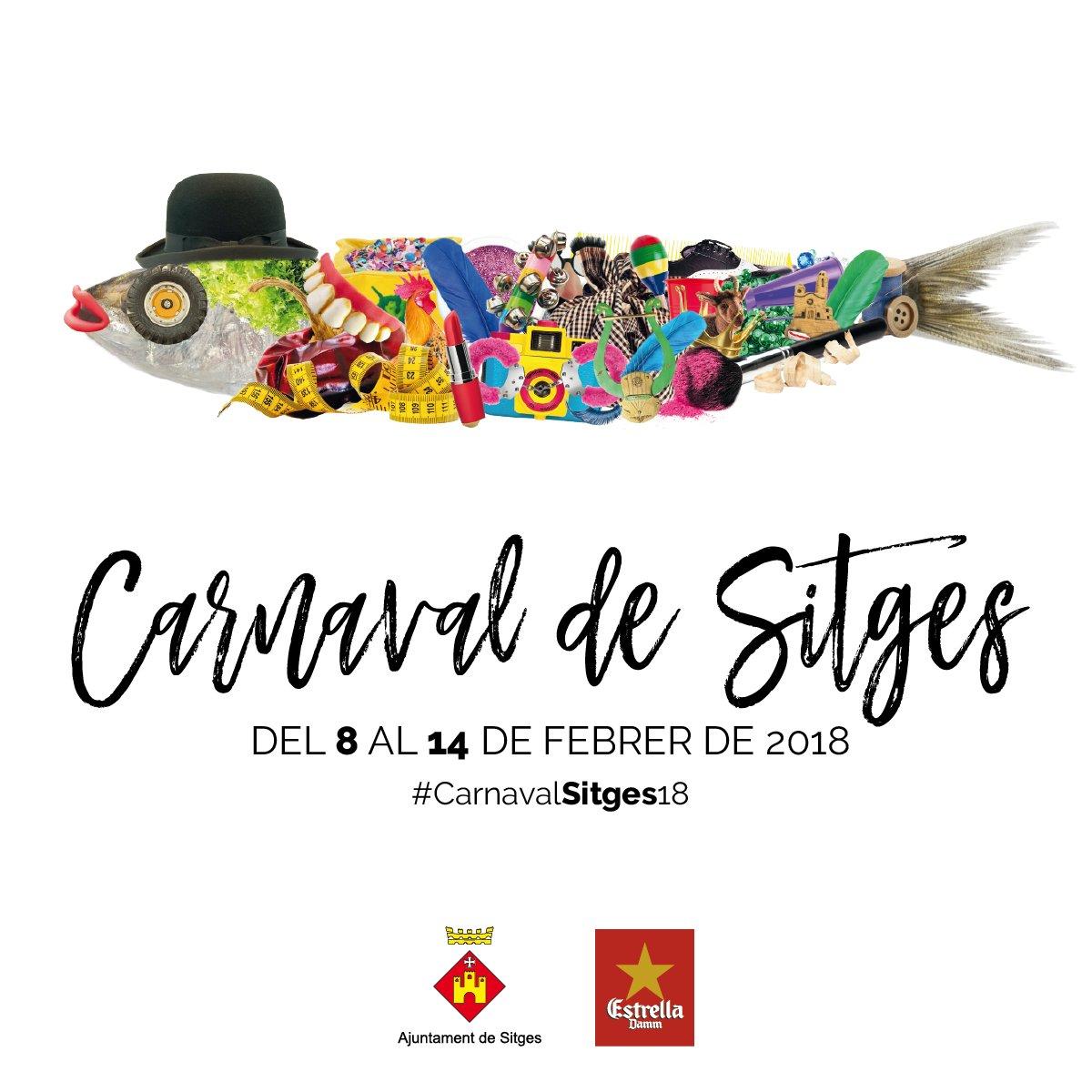 Sitges Carnaval poster