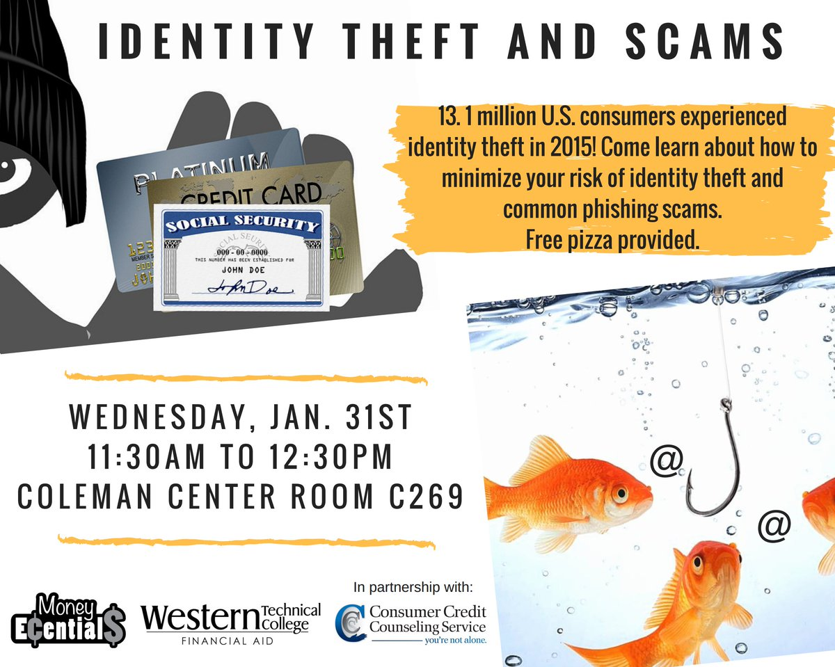 Western tech college on twitter western is hosting a financial western tech college on twitter western is hosting a financial literacy event for students to help better prepare them from identity theft and scams thecheapjerseys Choice Image