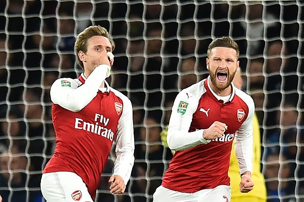 Arsenal 2-1 Chelsea (agg 2-1) : Wenger's men rated and slated  https://t.co/KZZuiMA9DH  #AFCvCFC  #AFC