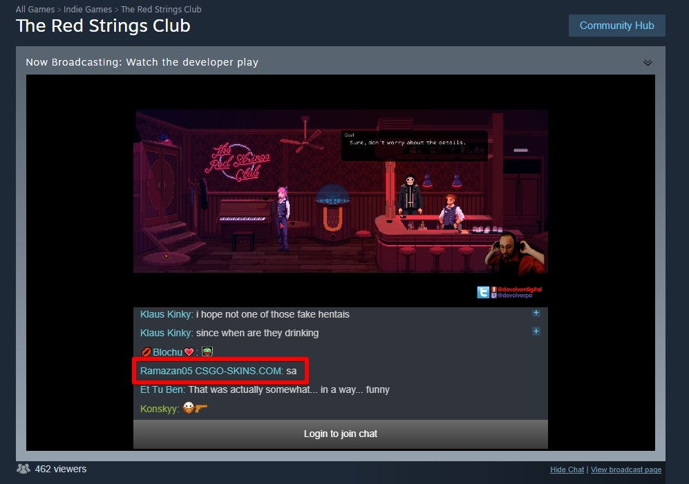 how to get your thread like on steam