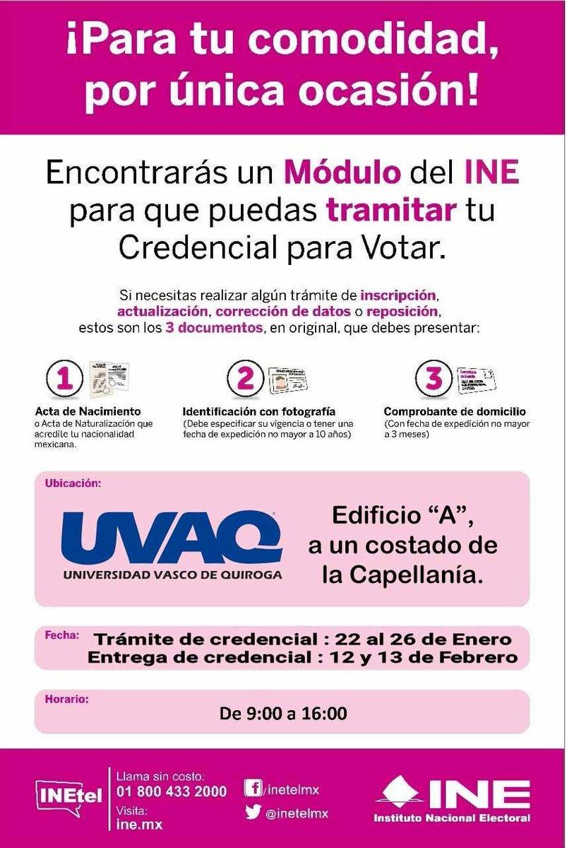 Uvaq On Twitter El Módulo Del Ine Sigue Instalado En El