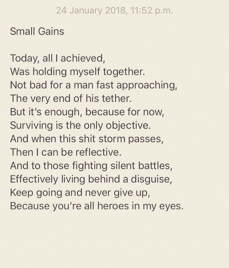 Dennis Tynan On Twitter Day 257 Poem 257 Dreams Love Family