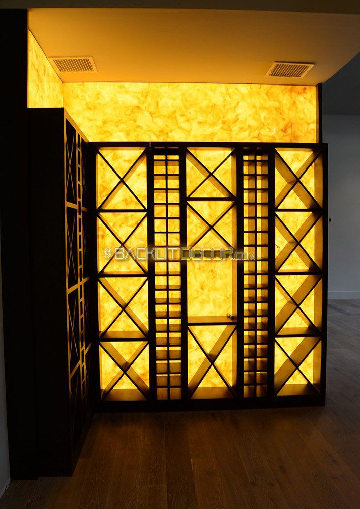 Tremendous Backlit Decor On Twitter Backlit Onyx Was Used To Enhance Interior Design Ideas Tzicisoteloinfo