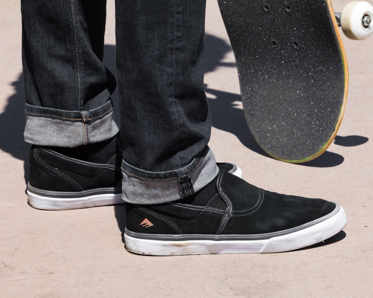 8b89585f013 ... Wino G6 Slip from  Emerica. Check Dalton Dern s wear test review of  this banger on our blog and cop your own pair via the link!  https   goo.gl 4HX4Fn ...