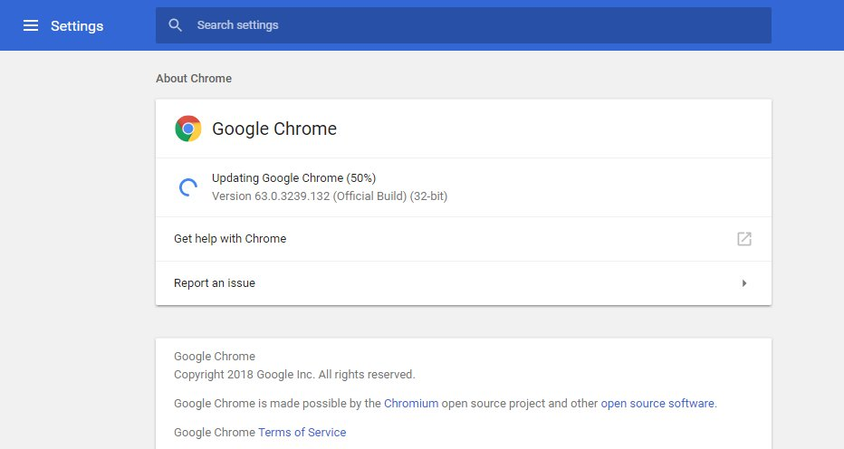 Chrome for windows