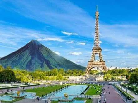 DUWwp6dVAAAgmed - Mocha tranfers Mayon Volcano, netizens does it all over the world - Jokes and Humor