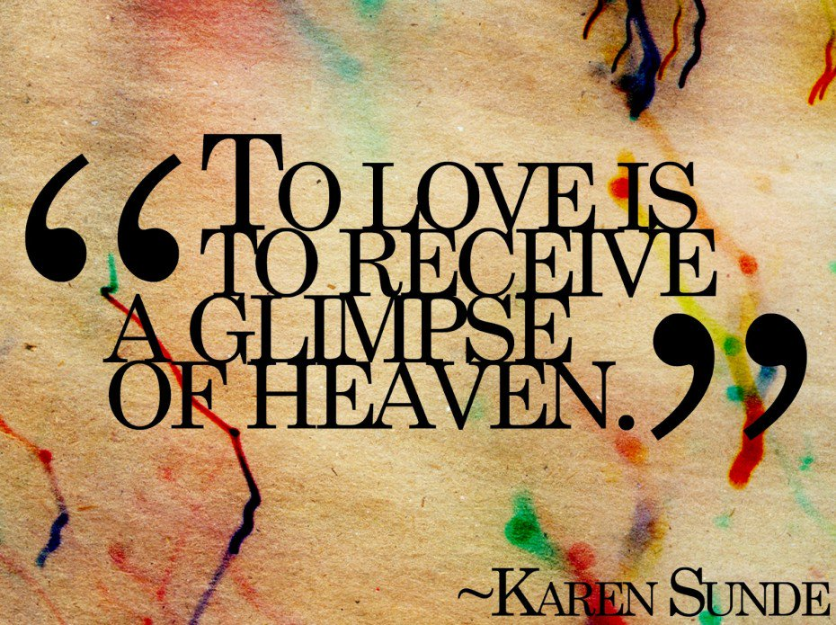 To #Love is to receive a glimpse of #Heaven! #JoyTrain #Joy #BeLove #BeKind RT @LadyWiseWorld