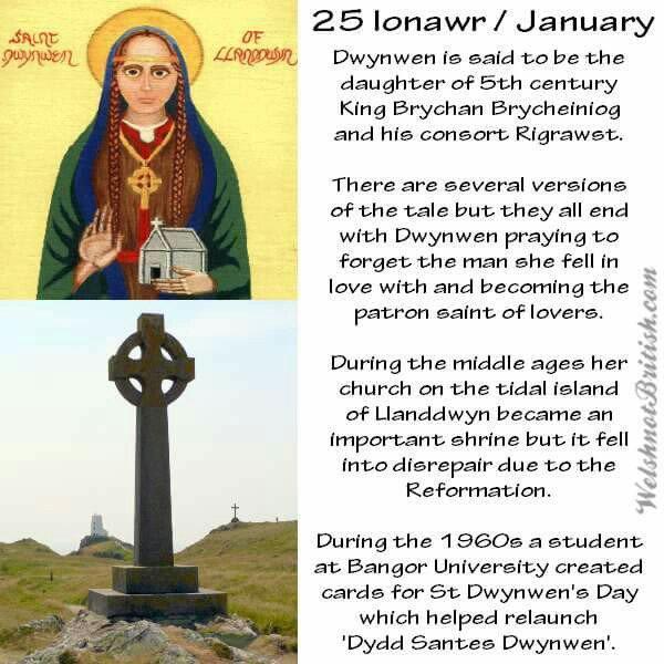 St dwynwen prayer