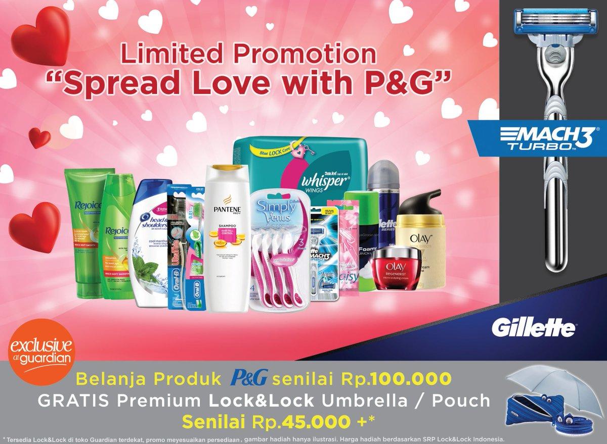 Guardian Belanja Sebarkan Cinta Bersama Produk Produk Yang Bisa