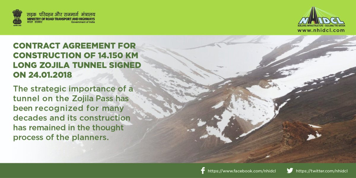 Nhidcl On Twitter Contract Agreement For Construction Of 14150 Km