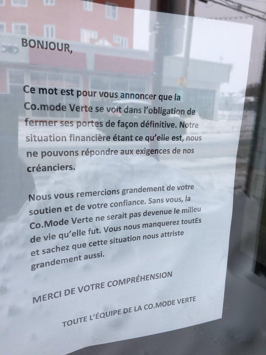 J Francois Deschenes On Twitter La Ressourcerie De Matane La Co